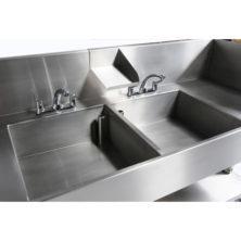 manual decontamination sink