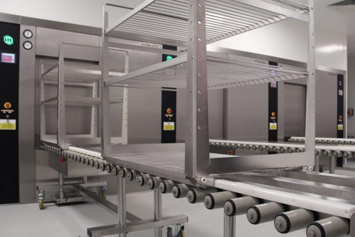 sterilisation and manual handling solution