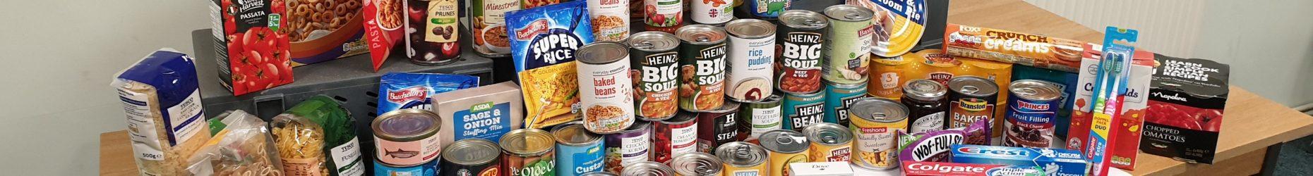 Foodstuffs donation
